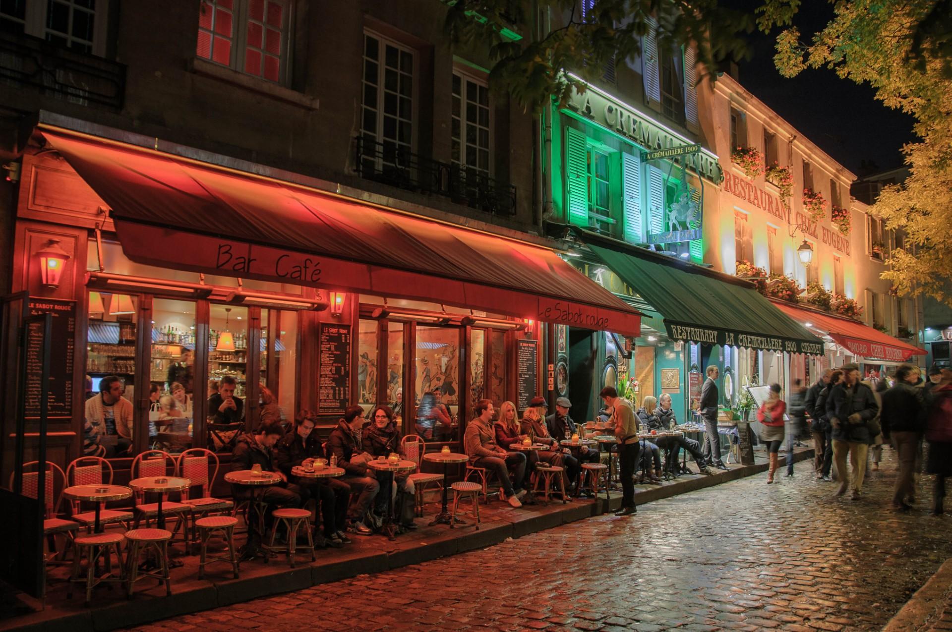 street-night-town-restaurant-city-paris-1233497-pxhere-com